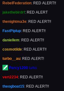 red alert ya